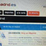 Entrevista en Onda Madrid