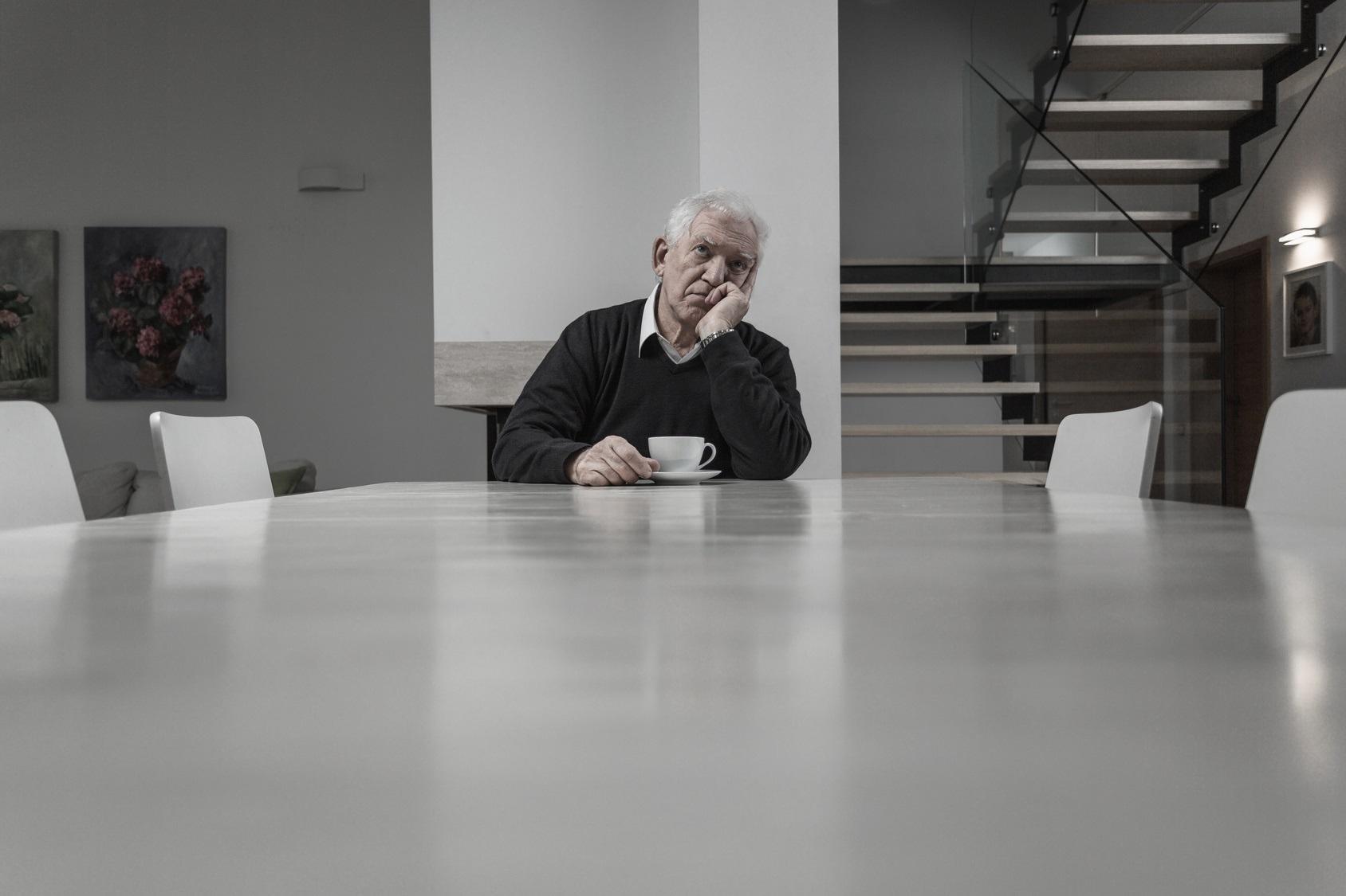 Abuelo soledad