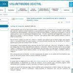 Quiero Un Abuelo en la web de Voluntariado Dixital