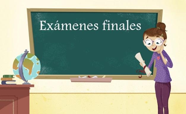 Exámenes finales