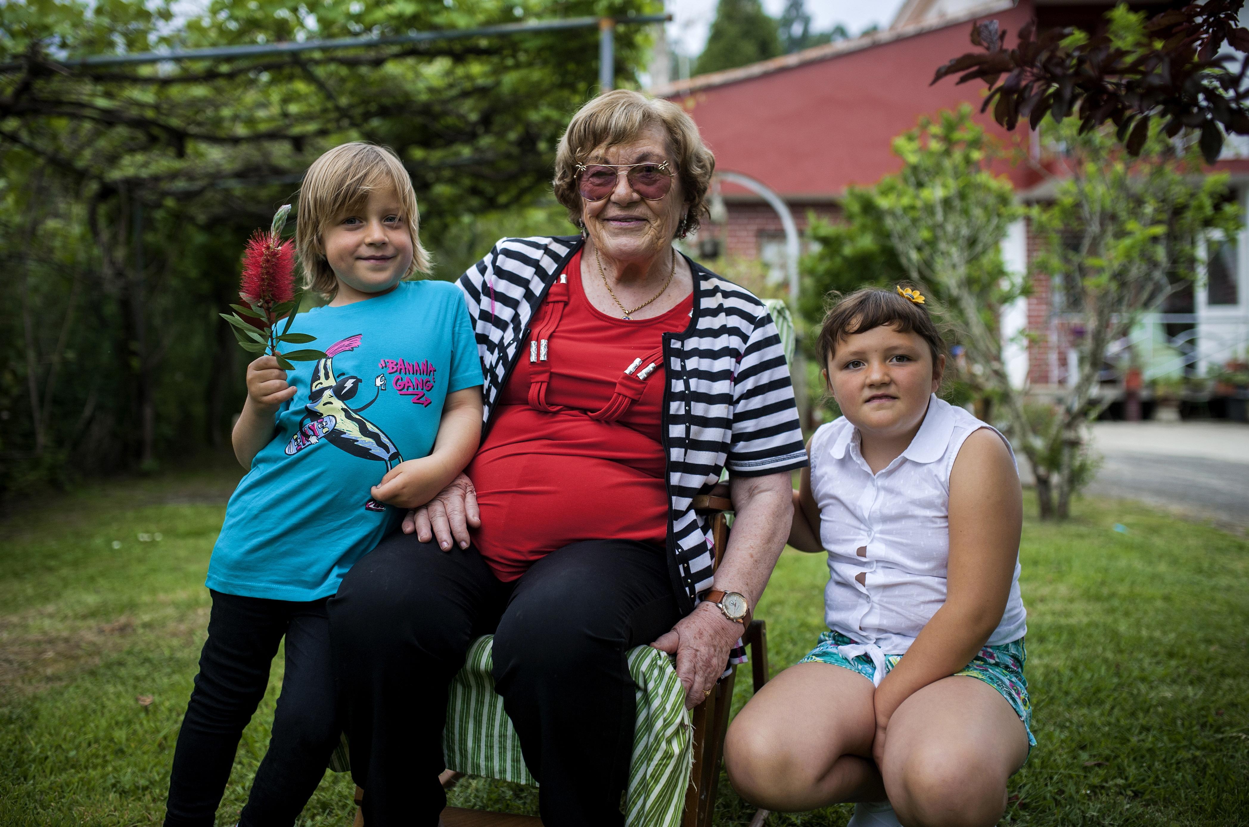 abuela, Sami y Lukasz