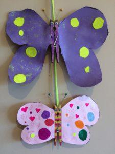 Mariposas manualidades