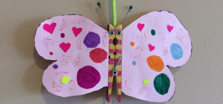 Mariposa manualidad