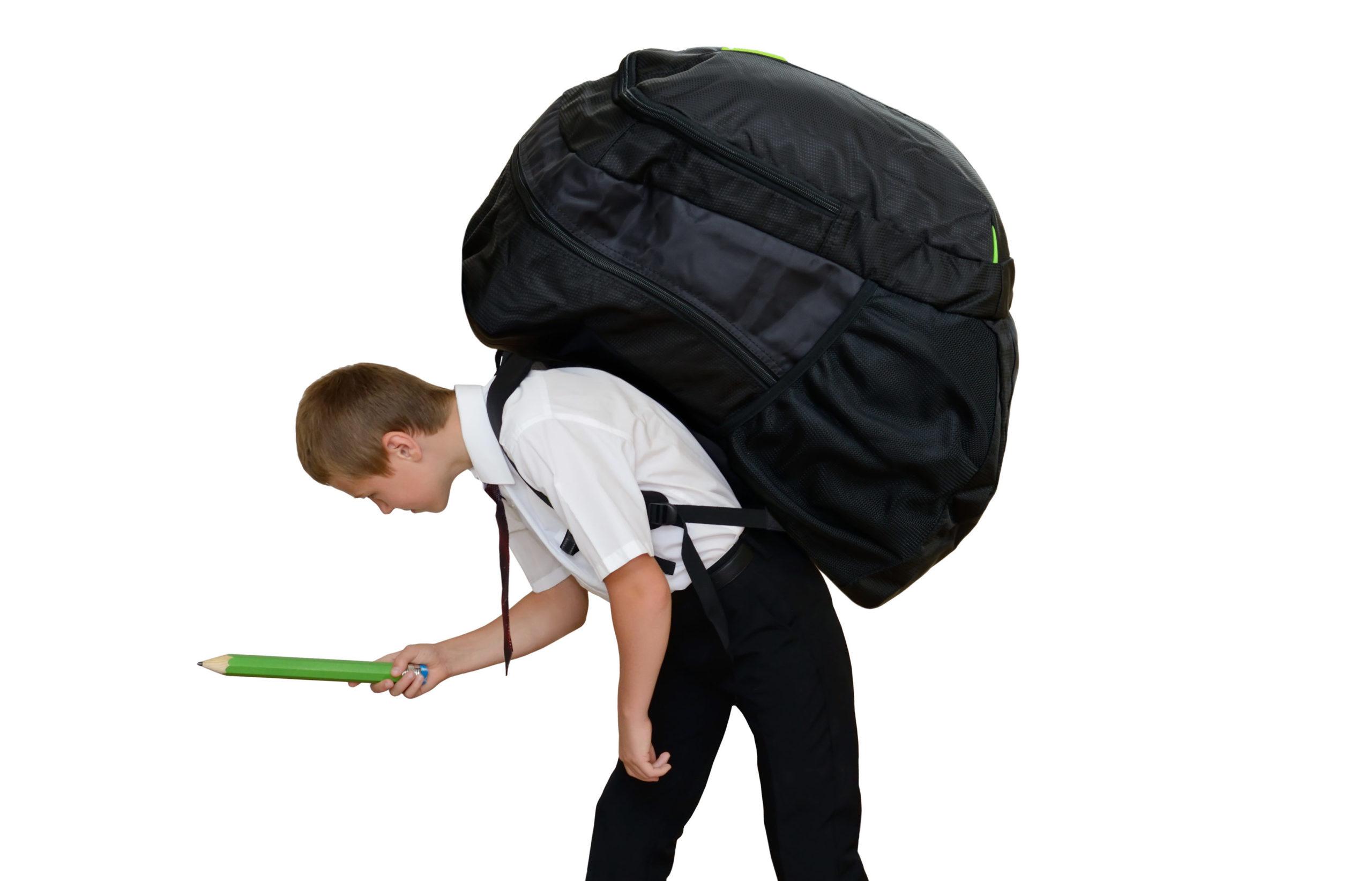 mochila pesada