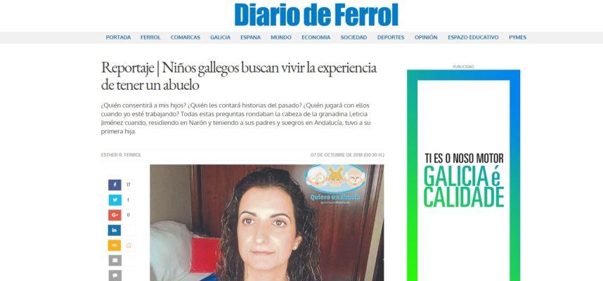 Se buscan abuelos en Galicia