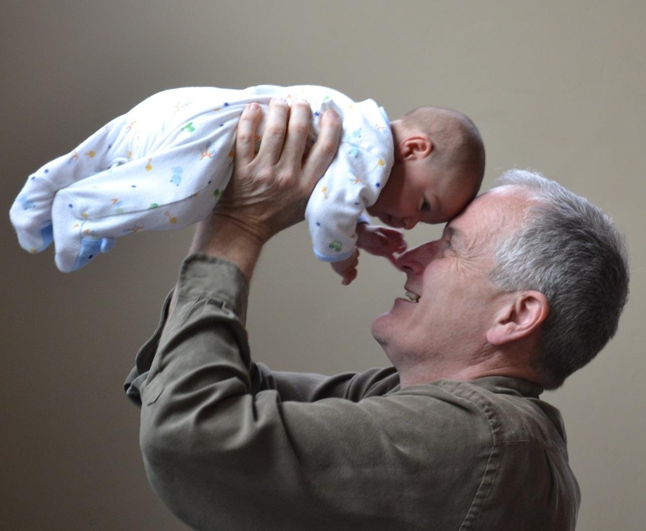 Vas a ser abuelo