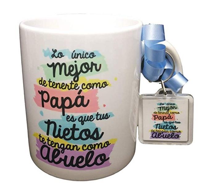 8084dfc9e51 Esta taza es ideal para regalar el Día del Padre sobre todo a los padres  que acaban de ser abuelos y comienzan a disfrutar de sus nietos.