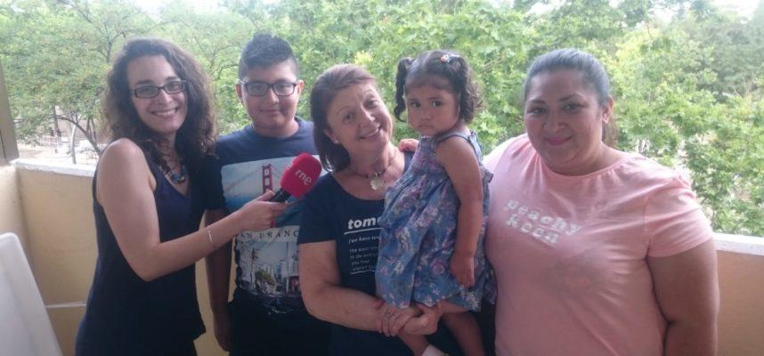 Familia conectada a través de Quiero Un Abuelo